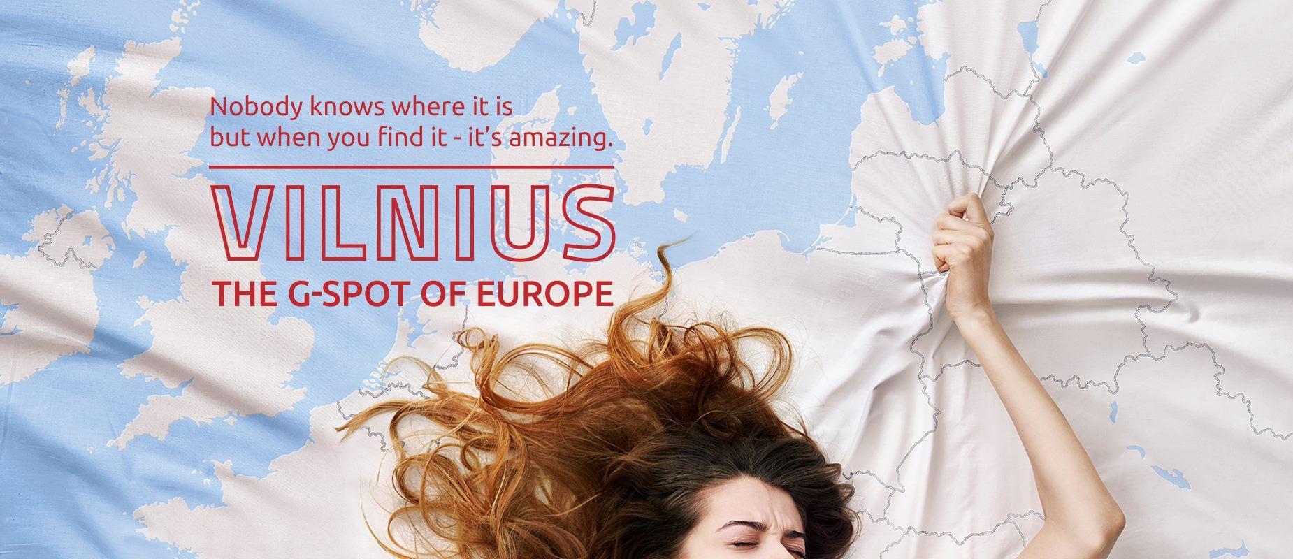 Il Punto-G d'Europa esiste. Il caso della promozione turistica di Vilnius